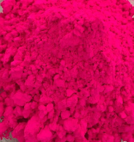 塑胶注塑荧光粉润巴Z-12荧光玫瑰红色粉