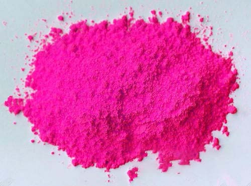 润巴耐高温荧光粉红颜料ZQ11耐高温塑胶荧光颜料
