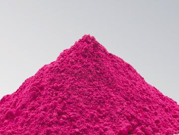 荧光玫红颜料润巴D12耐高温涂料荧光颜料