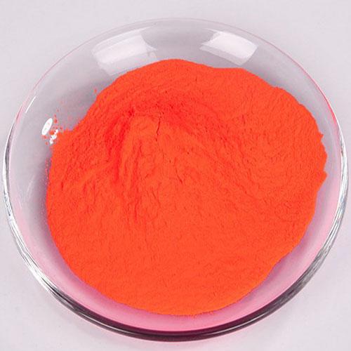 润巴塑胶荧光颜料K-14荧光橙红颜料