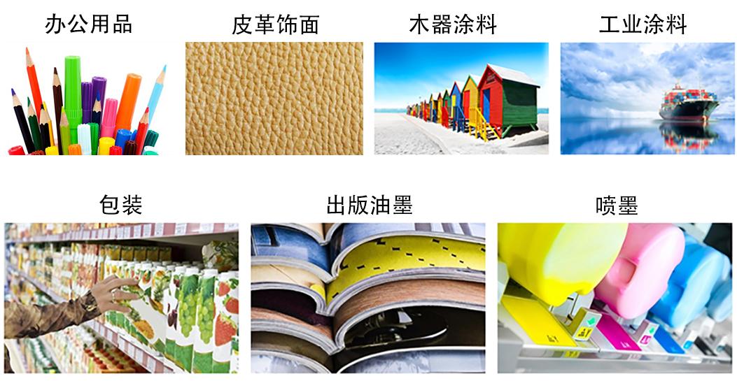 CLARIANT涂料,印刷油墨系列应用案例