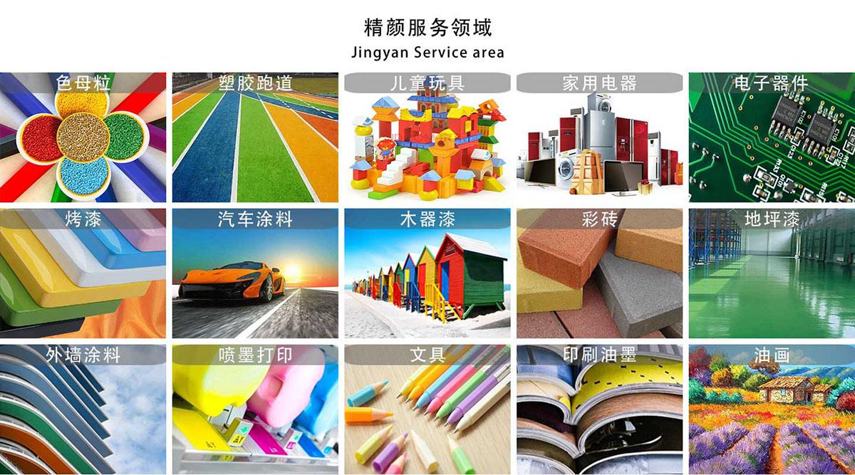 品牌颜料染料应用方案