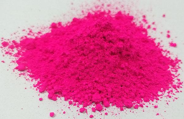 旭成FLL707环保荧光颜料韩国进口旭成FLL-707荧光品红色粉